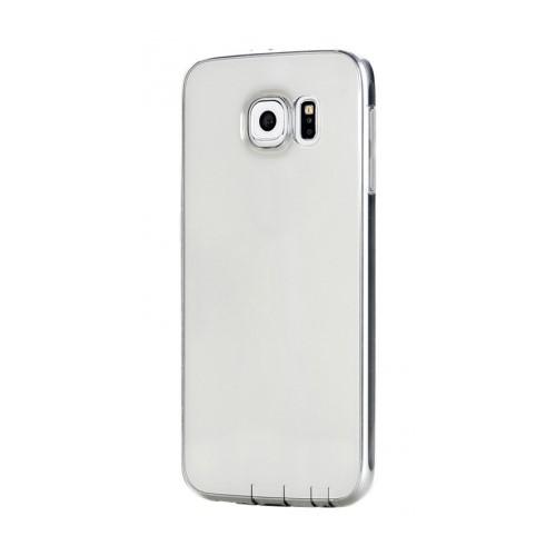 Mycolors Samsung Galaxy S6 Siyah İnce Silikon Arka Kapak - MYC-0183