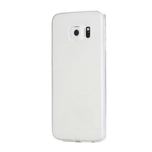 Mycolors Samsung Galaxy S6 Edge Şeffaf İnce Silikon Arka Kapak - MYC-0186