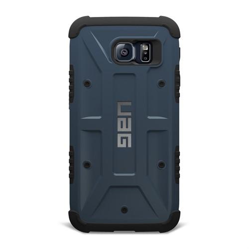 UAG Samsung Galaxy S6 Composite Kılıf-Slate/Siyah - UAG-GLXS6-SLT-W/SCRN-VP (HD Ekran Koruyucu Hediye)
