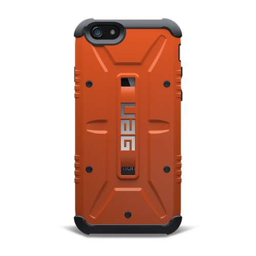 UAG iPhone 6/6s (4.7 Screen) Composite Kılıf-Rust/Siyah - UAG-IPH6-RST-VP (HD Ekran Koruyucu Hediye)