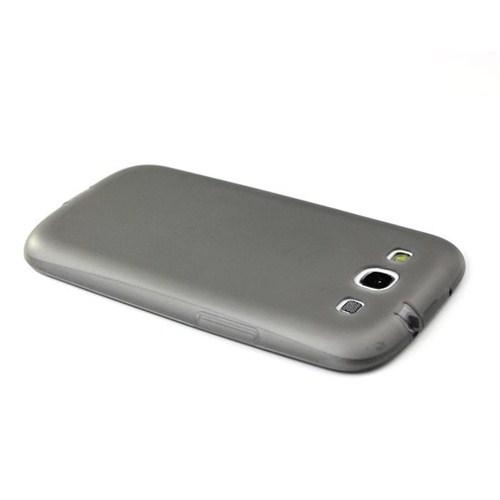 Mycolors Samsung Galaxy S3 Siyah İnce Silikon Arka Kapak - MYC-0074