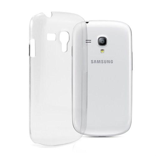 Mycolors Samsung Galaxy S3 Mini Şeffaf İnce Silikon Arka Kapak - MYC-0078