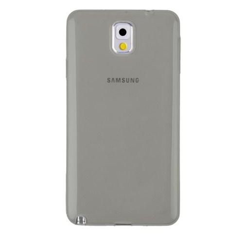 Mycolors Samsung Galaxy Note 3 Siyah İnce Silikon Arka Kapak - MYC-0081