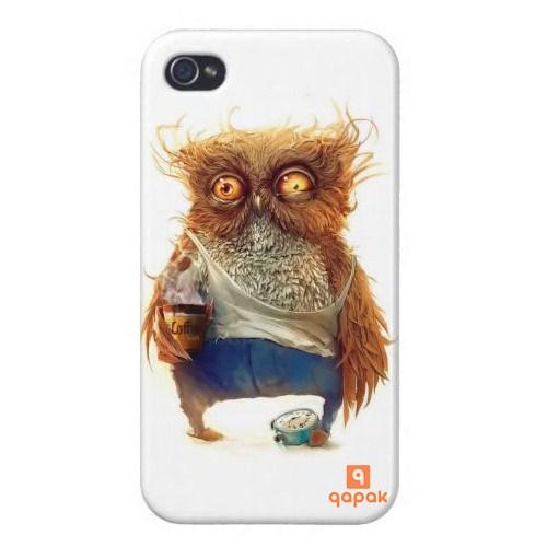 Qapak iPhone 4/4s Baskılı İnce Kapak - uz244434010008