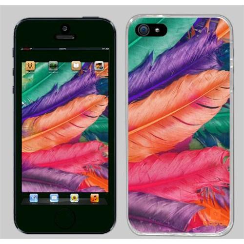 Qapak iPhone 5 Baskılı İnce Kapak uz244434010097