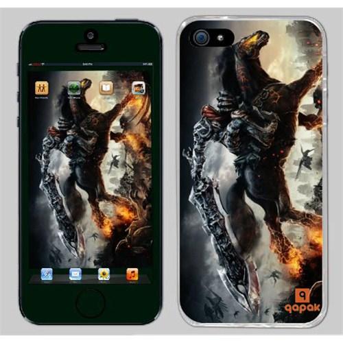Qapak iPhone 5 Baskılı İnce Kapak uz244434010111