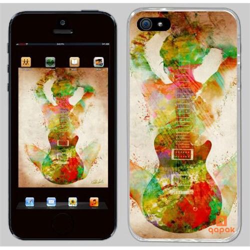 Qapak iPhone 5 Baskılı İnce Kapak uz244434010132