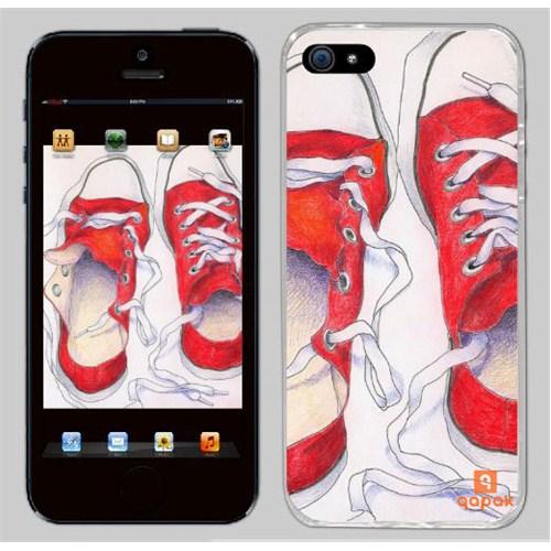 Qapak iPhone 5 Baskılı İnce Kapak uz244434010135