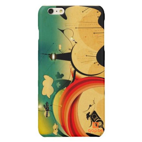 Qapak iPhone 6 Plus Baskılı İnce Kapak uz244434010287