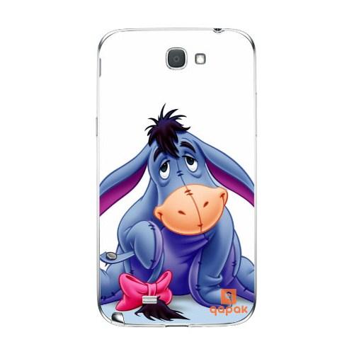 Qapak Samsung Galaxy Note 2 Baskılı İnce Kapak uz244434010310