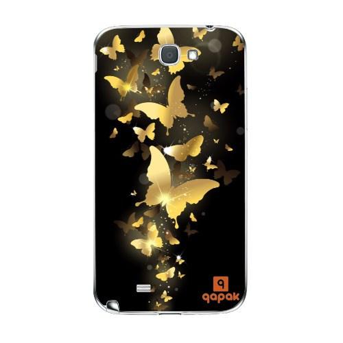 Qapak Samsung Galaxy Note 2 Baskılı İnce Kapak uz244434010321