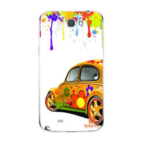 Qapak Samsung Galaxy Note 2 Baskılı İnce Kapak uz244434010345