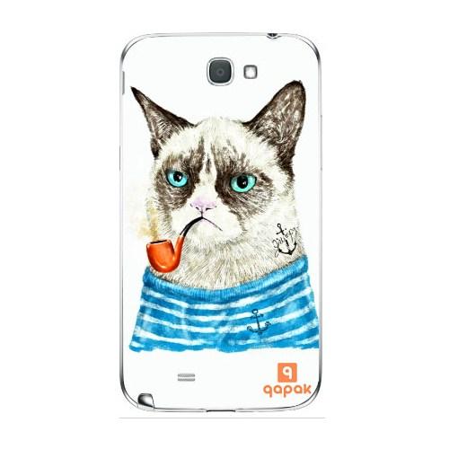 Qapak Samsung Galaxy Note 2 Baskılı İnce Kapak uz244434010347