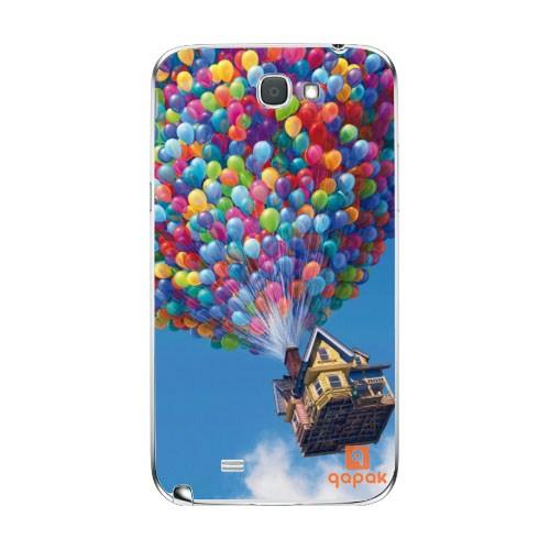 Qapak Samsung Galaxy Note 2 Baskılı İnce Kapak uz244434010354