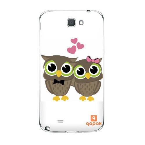 Qapak Samsung Galaxy Note 2 Baskılı İnce Kapak uz244434010355