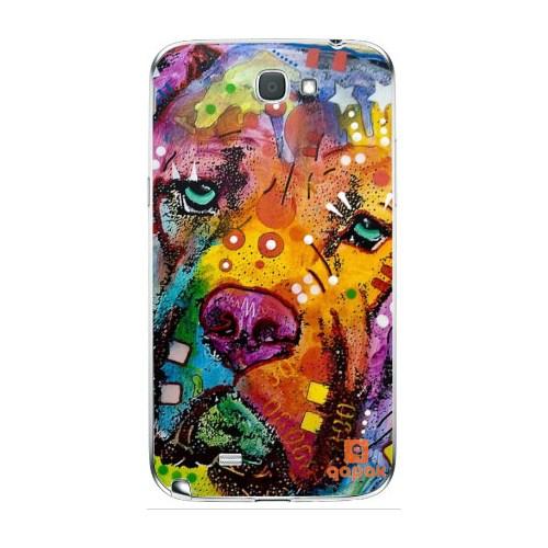 Qapak Samsung Galaxy Note 2 Baskılı İnce Kapak uz244434010361