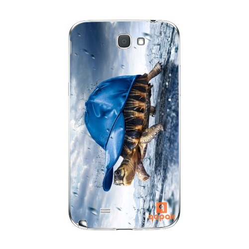 Qapak Samsung Galaxy Note 2 Baskılı İnce Kapak uz244434010363