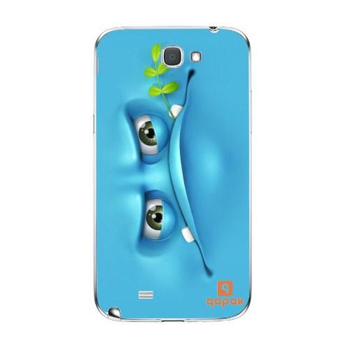 Qapak Samsung Galaxy Note 2 Baskılı İnce Kapak uz244434010368