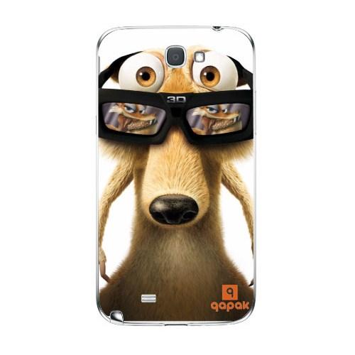 Qapak Samsung Galaxy Note 2 Baskılı İnce Kapak uz244434010369