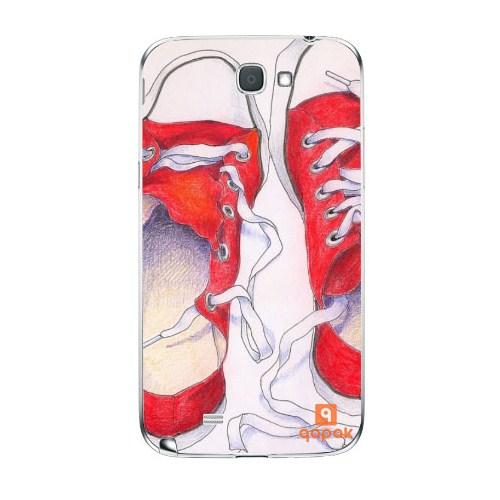 Qapak Samsung Galaxy Note 2 Baskılı İnce Kapak uz244434010375