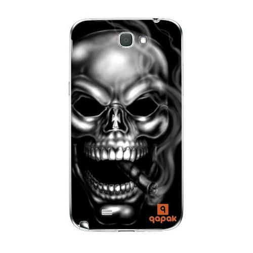 Qapak Samsung Galaxy Note 2 Baskılı İnce Kapak uz244434010381
