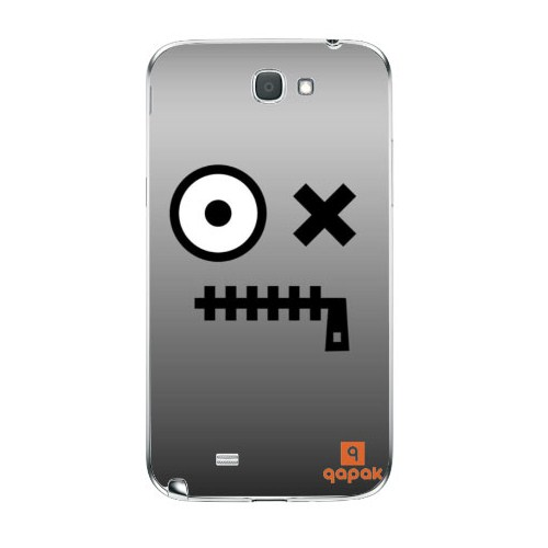 Qapak Samsung Galaxy Note 2 Baskılı İnce Kapak uz244434010387