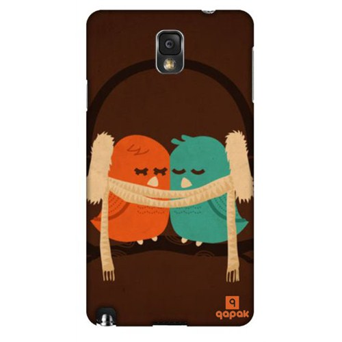 Qapak Samsung Galaxy Note 3 Baskılı İnce Kapak uz244434010420