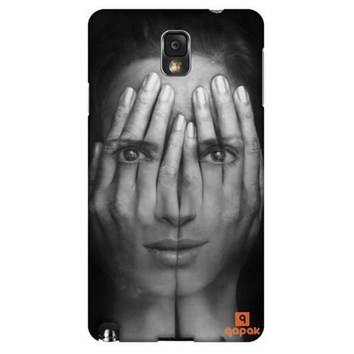 Qapak Samsung Galaxy Note 3 Baskılı İnce Kapak uz244434010425