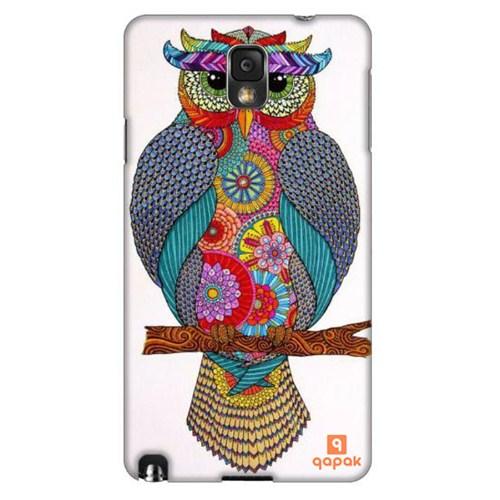 Qapak Samsung Galaxy Note 3 Baskılı İnce Kapak uz244434010431