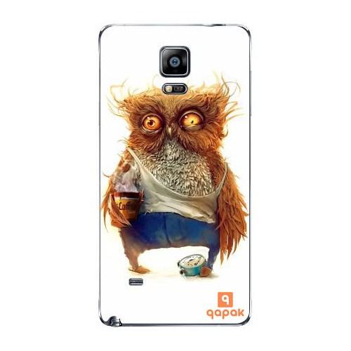 Qapak Samsung Galaxy Note 4 Baskılı İnce Kapak uz244434010461