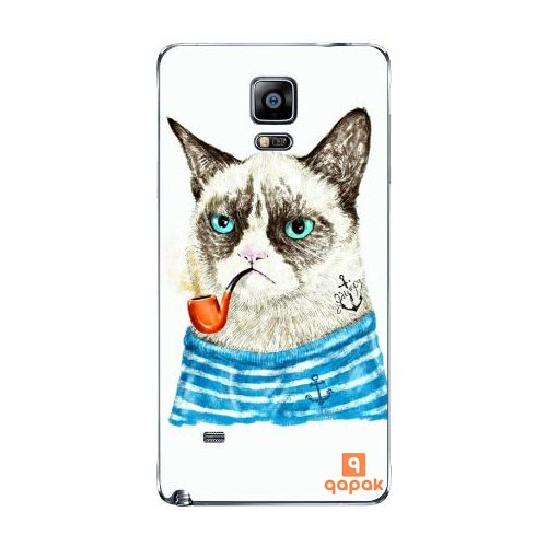 Qapak Samsung Galaxy Note 4 Baskılı İnce Kapak uz244434010486