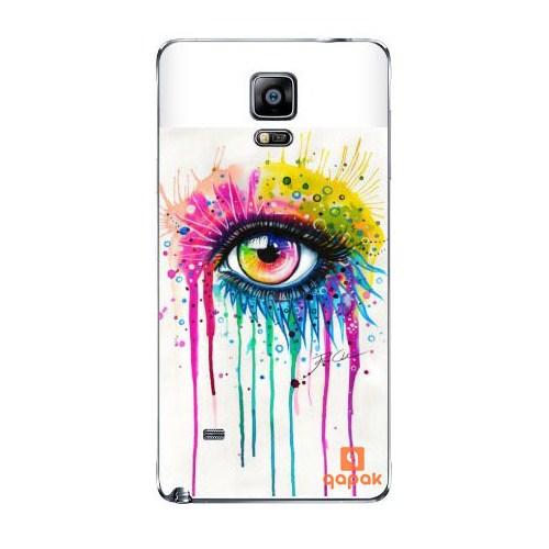Qapak Samsung Galaxy Note 4 Baskılı İnce Kapak uz244434010504