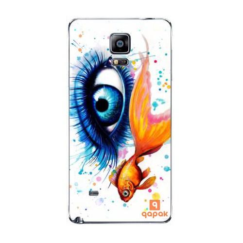 Qapak Samsung Galaxy Note 4 Baskılı İnce Kapak uz244434010511