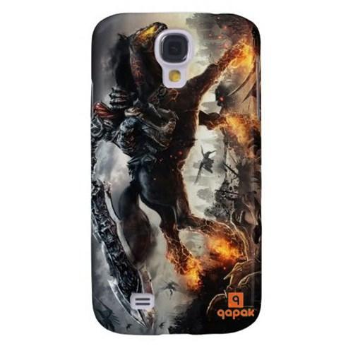 Qapak Samsung Galaxy S4 Baskılı İnce Kapak uz244434010548