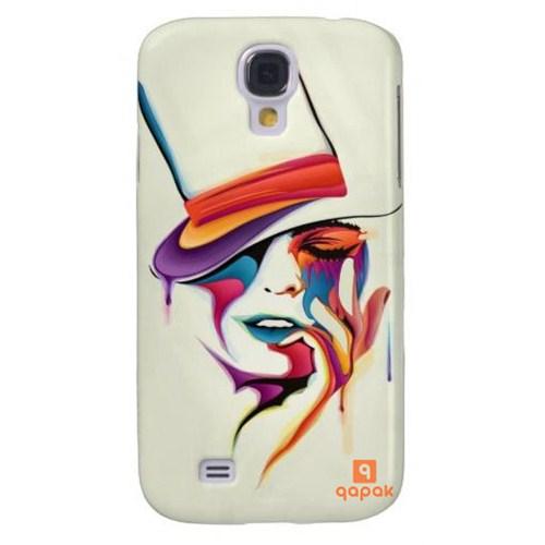Qapak Samsung Galaxy S4 Baskılı İnce Kapak uz244434010552