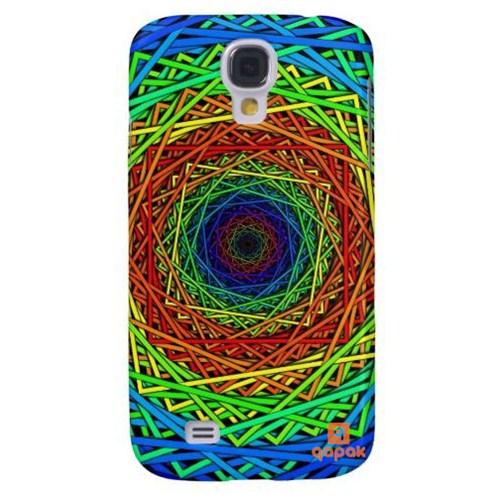 Qapak Samsung Galaxy S4 Baskılı İnce Kapak uz244434010558