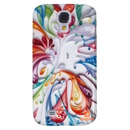 Qapak Samsung Galaxy S4 Baskılı İnce Kapak uz244434010561