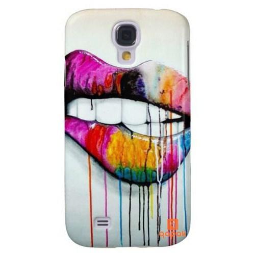 Qapak Samsung Galaxy S4 Baskılı İnce Kapak uz244434010576