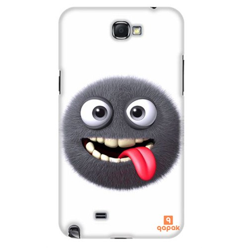 Qapak Samsung Galaxy Note 2 Baskılı İnce Kapak uz244434011083