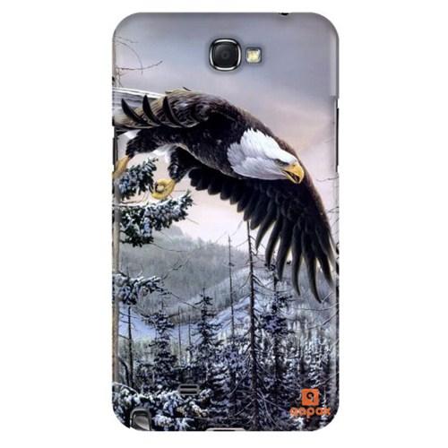 Qapak Samsung Galaxy Note 2 Baskılı İnce Kapak uz244434011094