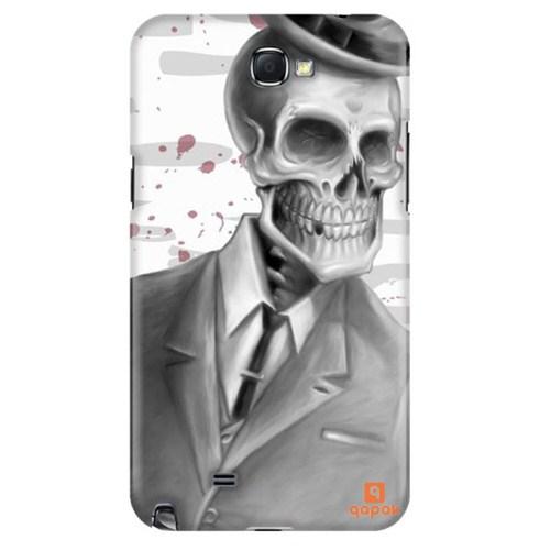 Qapak Samsung Galaxy Note 2 Baskılı İnce Kapak uz244434011098