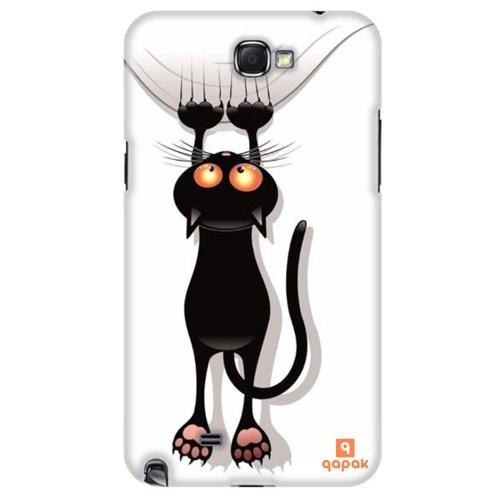 Qapak Samsung Galaxy Note 2 Baskılı İnce Kapak uz244434011107