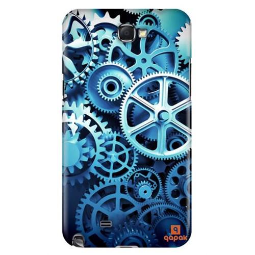 Qapak Samsung Galaxy Note 2 Baskılı İnce Kapak uz244434011117