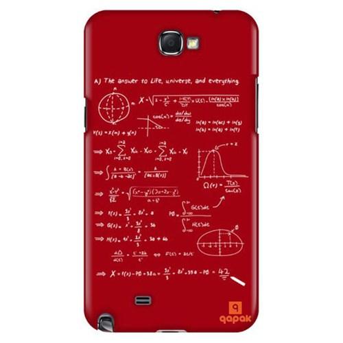 Qapak Samsung Galaxy Note 2 Baskılı İnce Kapak uz244434011125