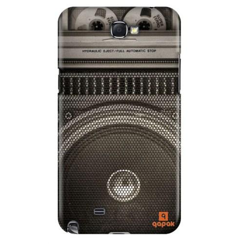 Qapak Samsung Galaxy Note 2 Baskılı İnce Kapak uz244434011127
