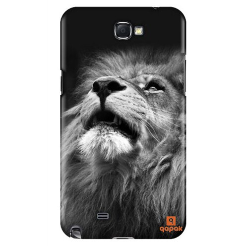 Qapak Samsung Galaxy Note 2 Baskılı İnce Kapak uz244434011132