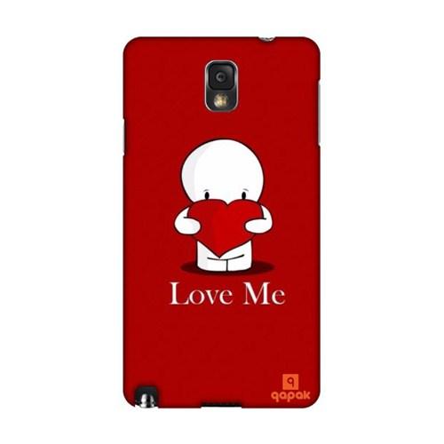 Qapak Samsung Galaxy Note 3 Baskılı İnce Kapak uz244434011160