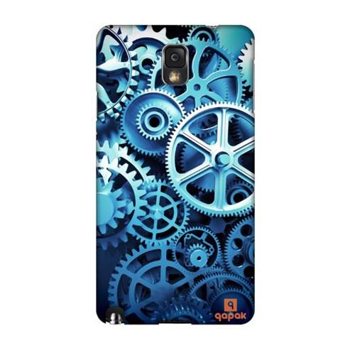 Qapak Samsung Galaxy Note 3 Baskılı İnce Kapak uz244434011172