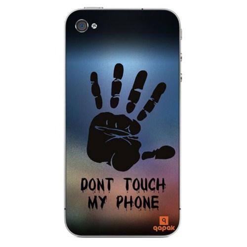Qapak iPhone 4 Baskılı İnce Kapak uz244434011333