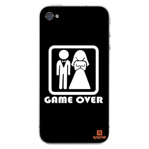 Qapak iPhone 4 Baskılı İnce Kapak uz244434011334